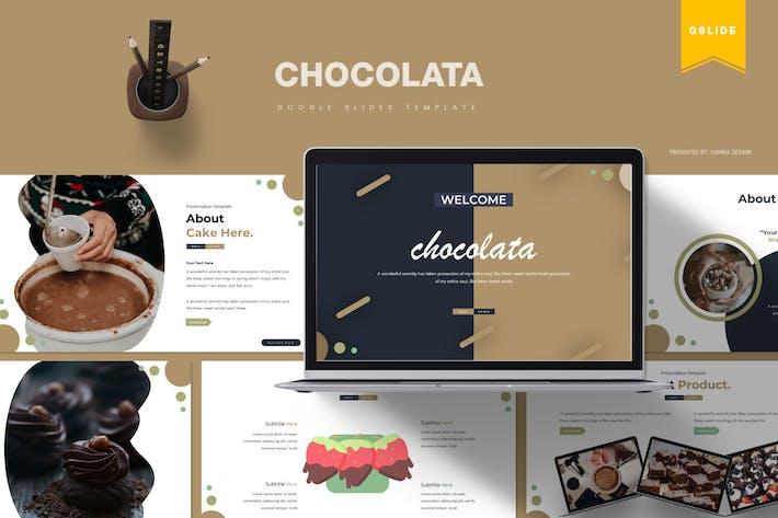 Thumbnail for Шоколата | Шаблон слайдов Google