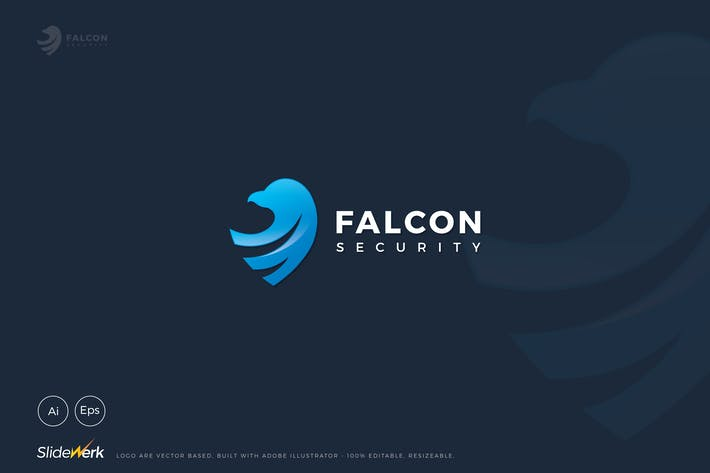 Thumbnail for Falcon Security Logo
