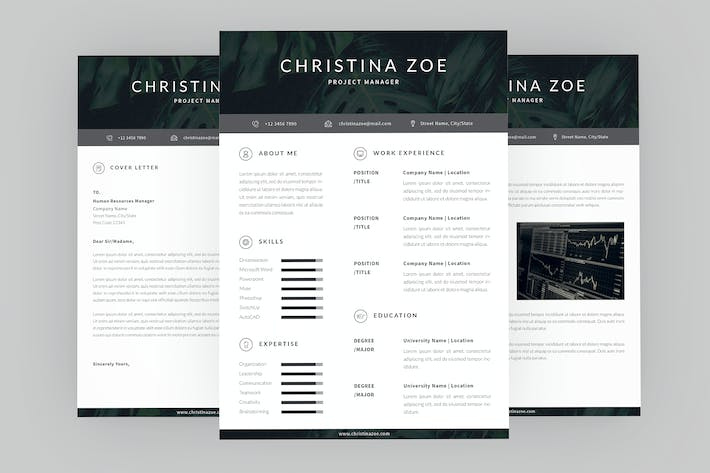 Cover Image For Project Zoe Resume Designer