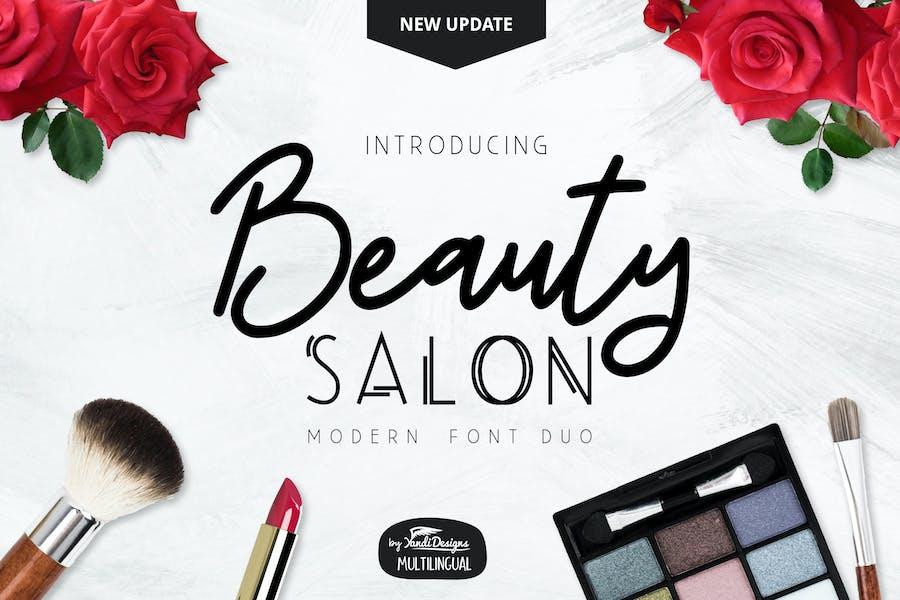 Beauty Salon Modern Fonts