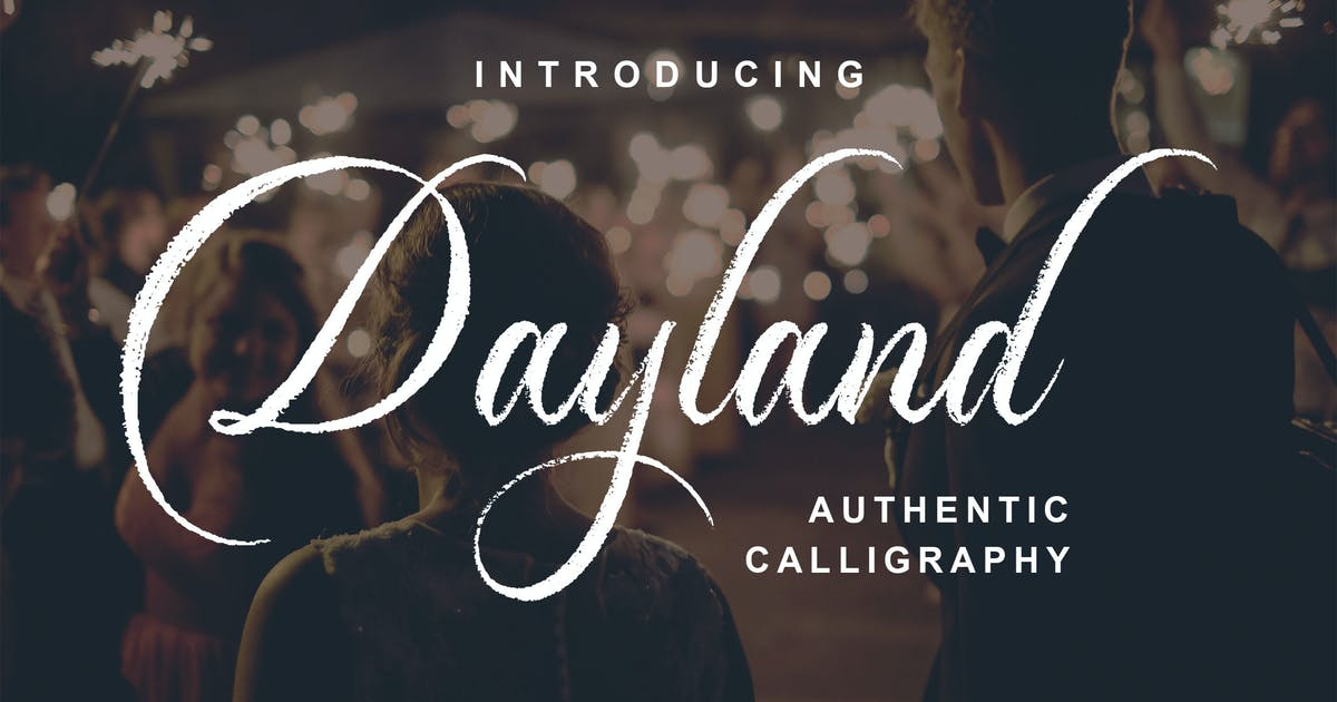 Download Dayland - Authentic Calligraphy by Blankids