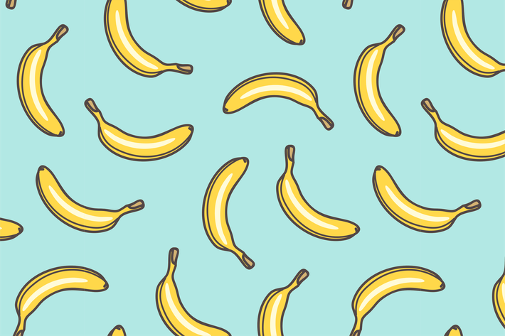 Thumbnail for Seamless Pattern of Bananas