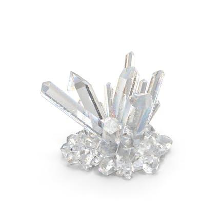 klare Quarzkristalle