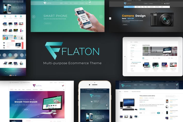 Thumbnail for Flaton - WooCommerce Responsive Digital Theme