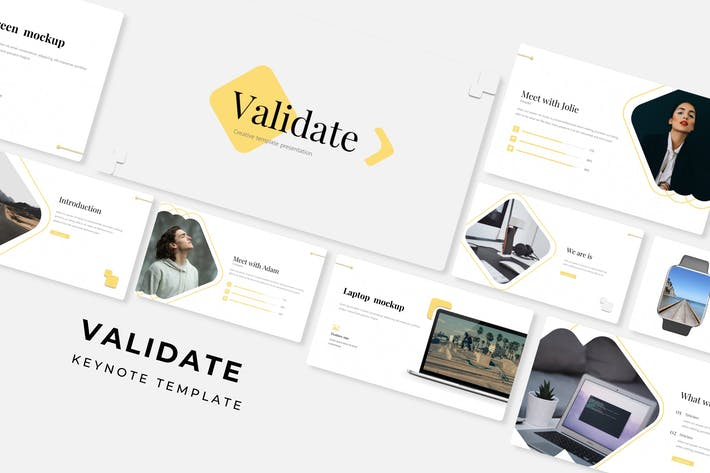 Thumbnail for Validate - Keynote Template