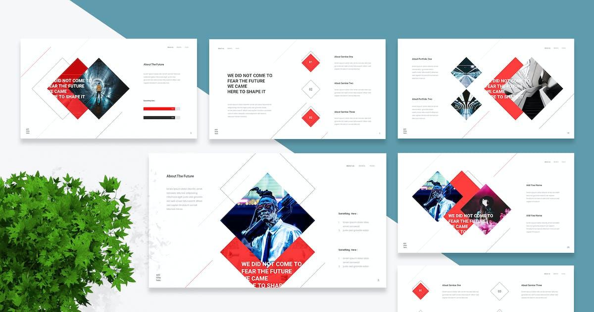 Download Futont - Futuristic Keynote Template by naulicrea