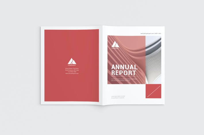 Thumbnail for Brochure Entreprise rouge