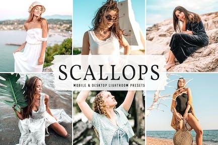 Scallops Mobile & Desktop Lightroom Presets