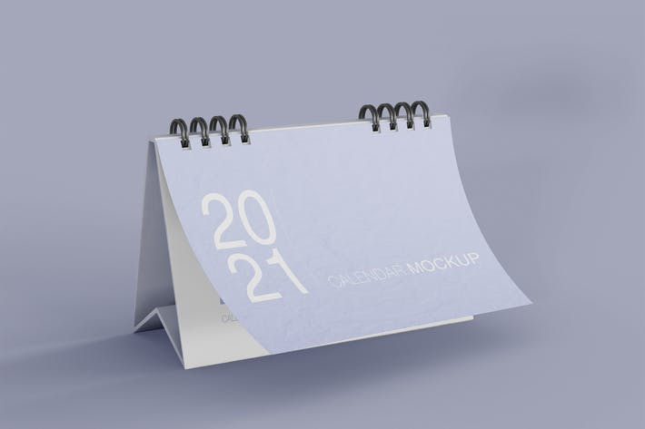 Thumbnail for Horizontal Calendar Mockup