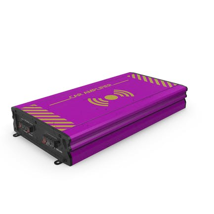 Car Amplifier Pink Used