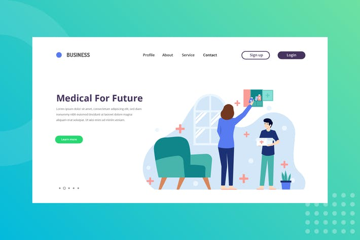 Thumbnail for Medical for future Landing Page