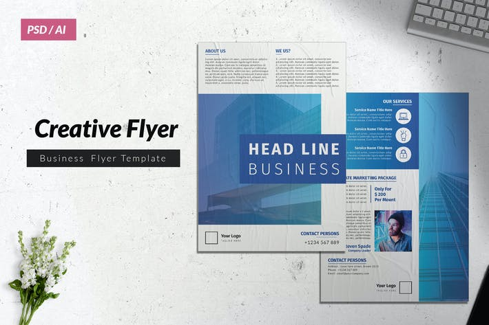 Thumbnail for Creative Business Flyer Vol. 16