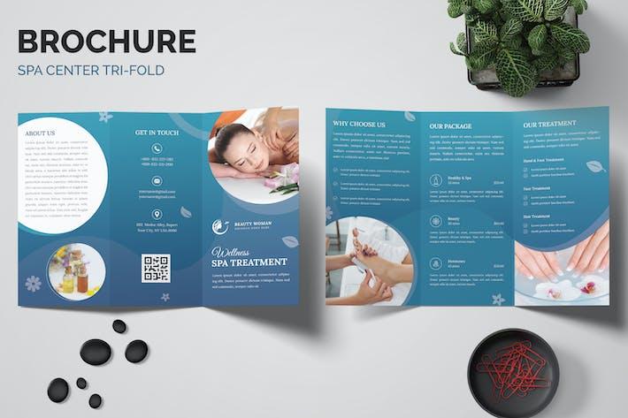 Spa Treatment Trifold Brochure
