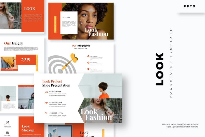Thumbnail for Look - Powerpoint Template