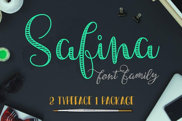 Thumbnail for Safina Font Family