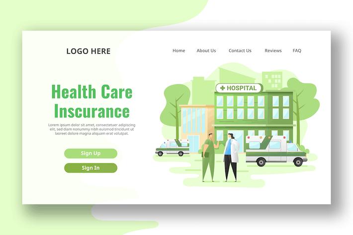 Hospital - Landing Page
