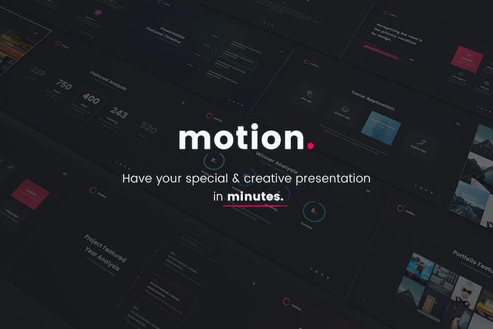Thumbnail for MOTION - Creative Google Slide Template