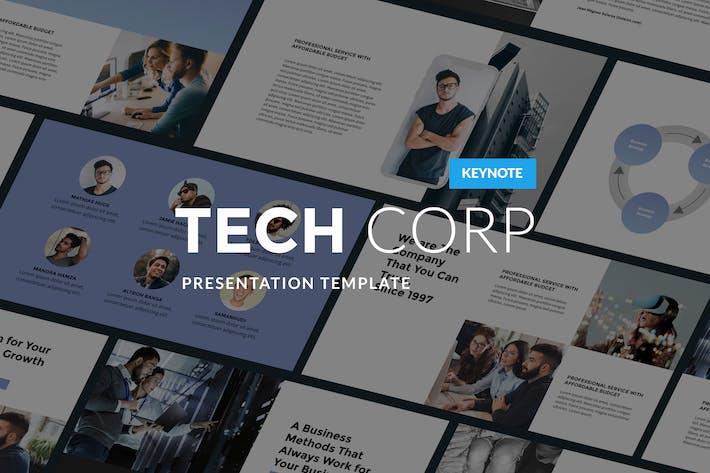 Thumbnail for Tech Corp - Современный Шаблон Keynote