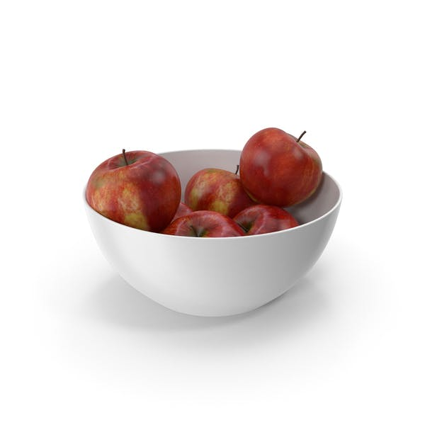 Thumbnail for Bowl of Red Apples