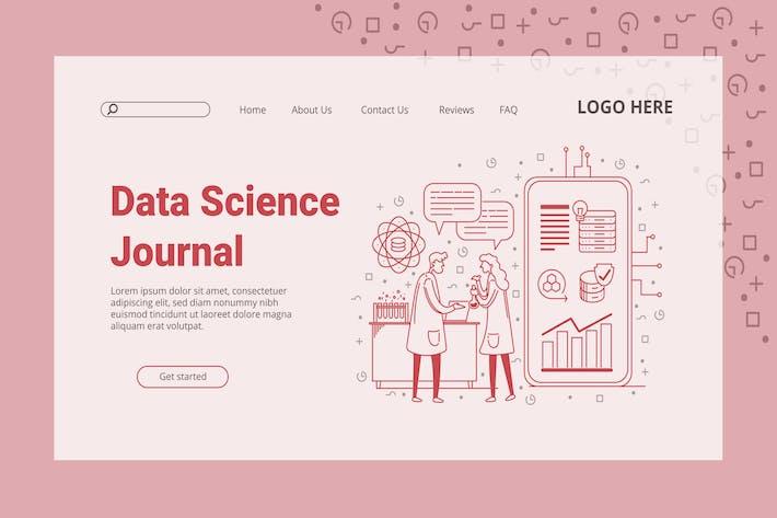 Data Graph - Landing Page