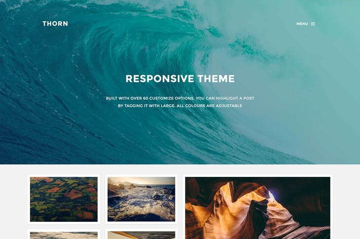 Thumbnail for Thorn - Responsive Grid Theme