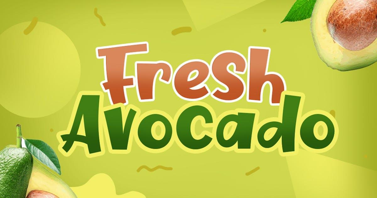 Download Fresh Avocado by khurasan