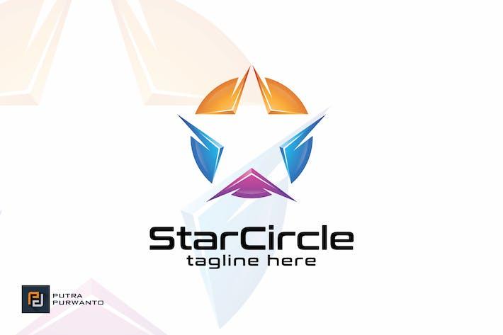 Thumbnail for Star Circle - Logo Template