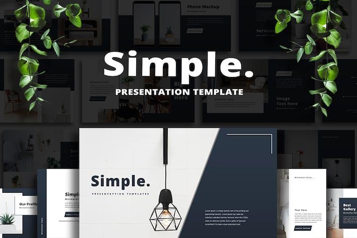 Simple - Keynote Template