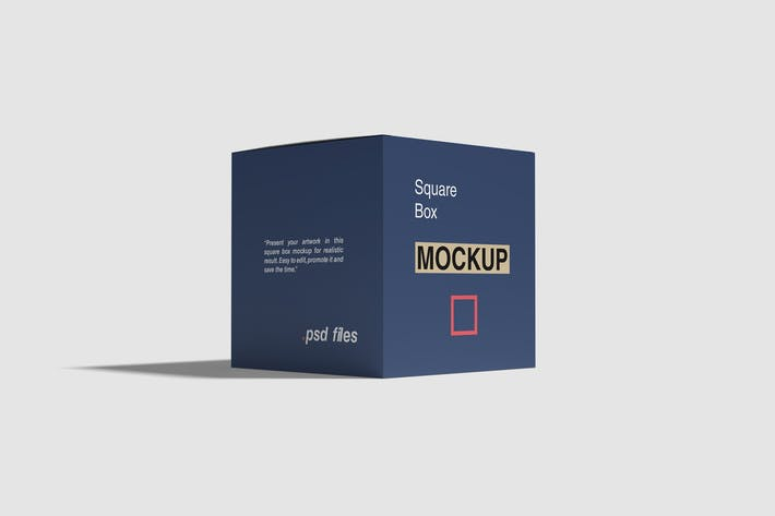 Thumbnail for Square Box Mockup