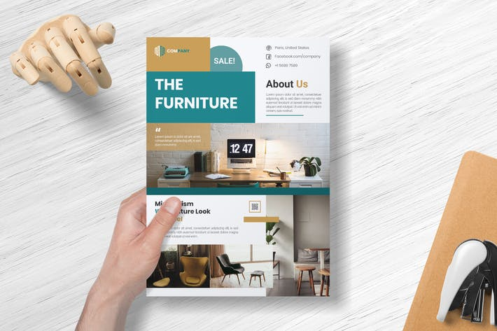 Thumbnail for The Furniture - Flyer