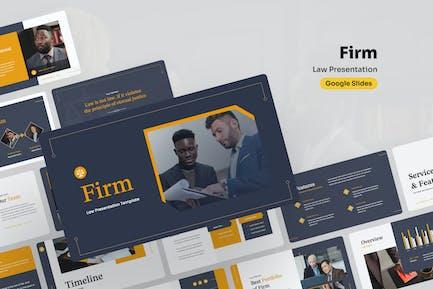 Firm - Law Google Slides Presentation