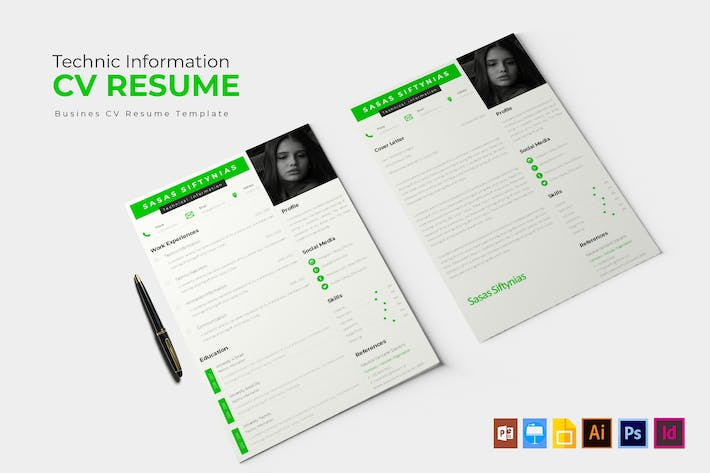 Thumbnail for Technic Information | CV & Resume