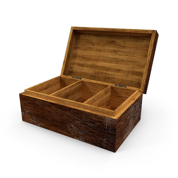 Cover Image for Distressed Wood Box