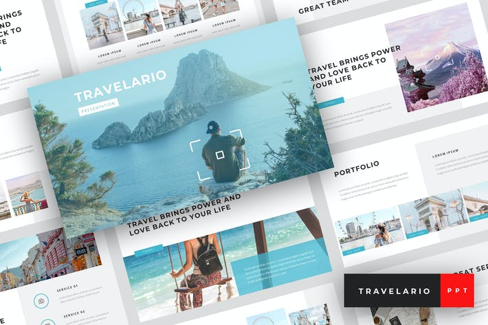 Thumbnail for Travelario - Travel PowerPoint Template