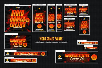 Spiele Banners Ad