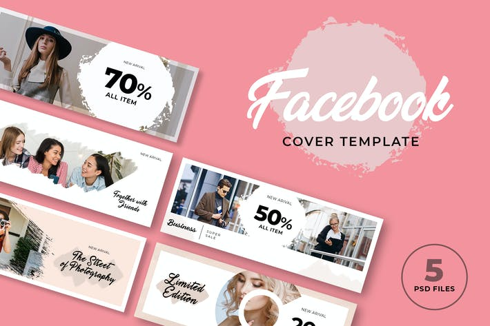 Thumbnail for Facebook Cover Template