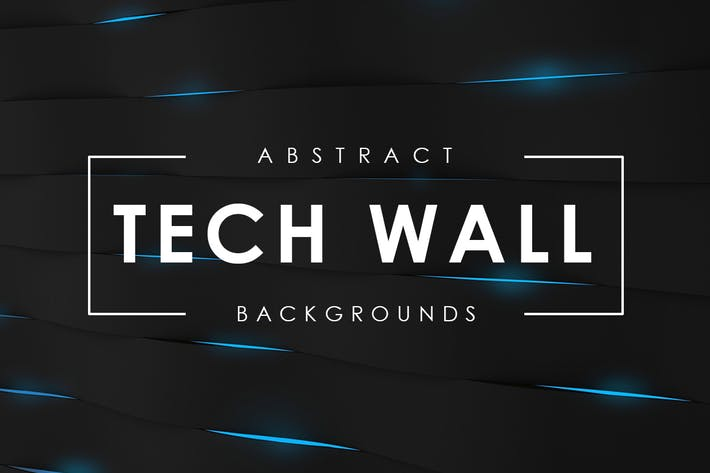 Thumbnail for Tech Wall Backgrounds