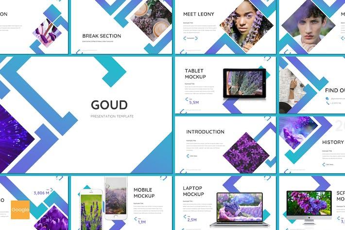Thumbnail for Goud - Flower Google Slides Template