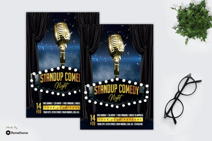 Stand Up Comedy - Flyer MR