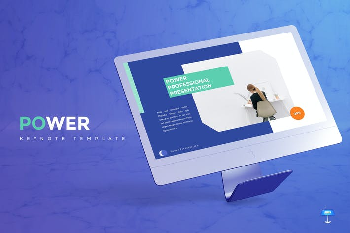 Thumbnail for Power - Keynote Template