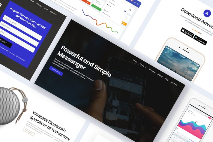 Thumbnail for Onepage Digital Marketing WordPress Theme - Advent