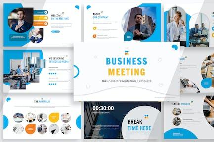 Деловые встречи - Powerpoint