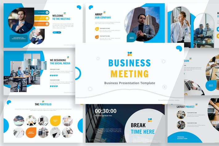 Thumbnail for Business Meeting - Powerpoint