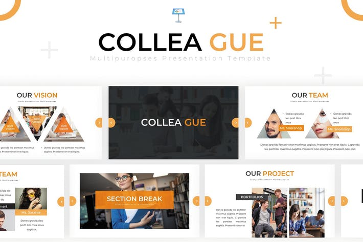 Thumbnail for Colleague - Keynote Template