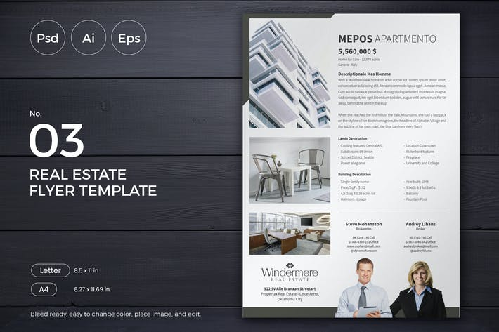 Thumbnail for Slidewerk - Real Estate Flyer 03
