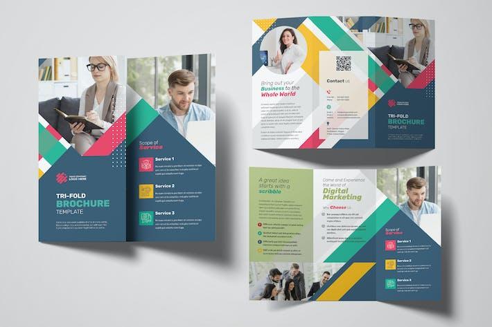 Thumbnail for Brochure Triple Marketing Numérique