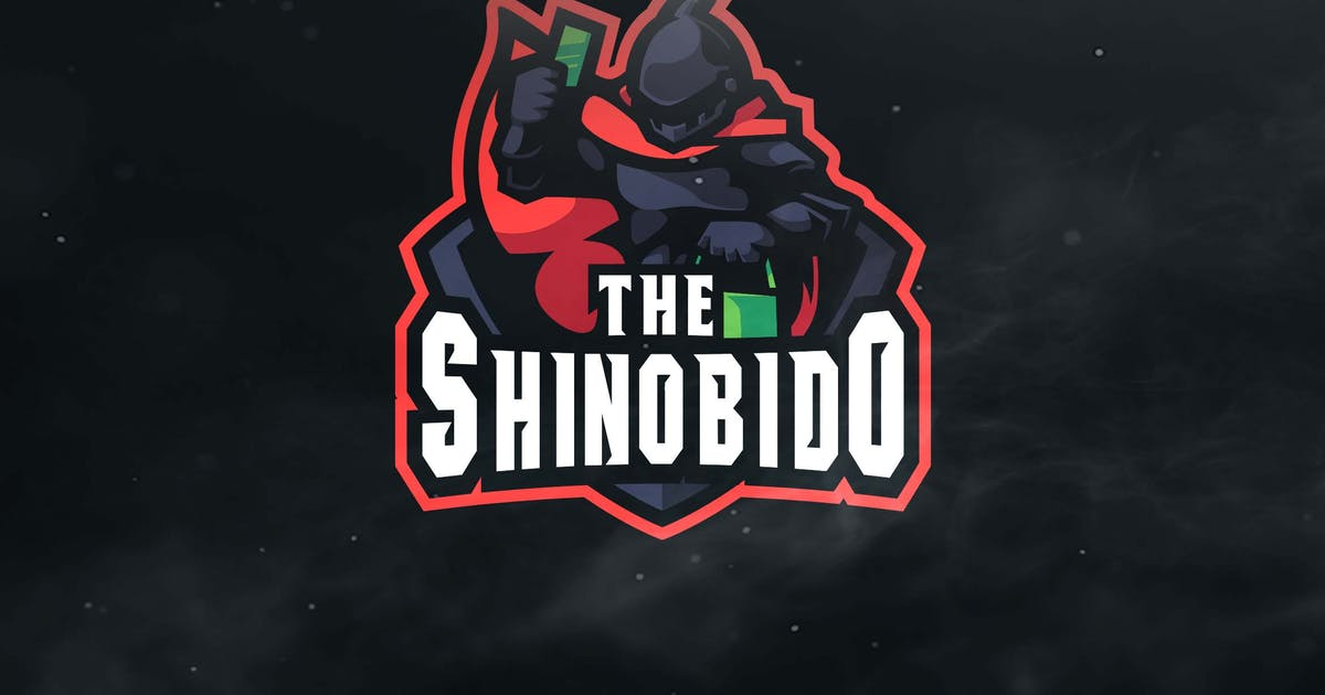The Shinobido Sport and Esports Logos by ovozdigital