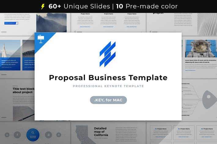 Thumbnail for Proposal Business Template Keynote