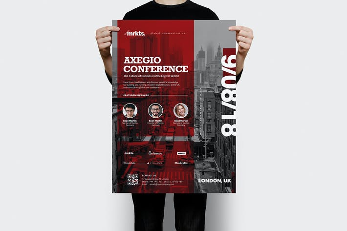 Cover Image For Axegio Conference Flyer