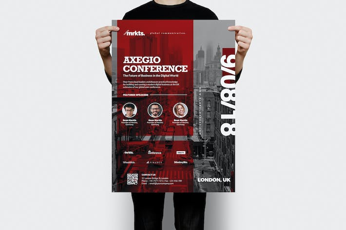 Thumbnail for Axegio Conference Flyer